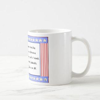 Patriot and Pledge of Allegiance Logo Coffee Mugs