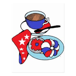 Patriot Breakfast Postcard