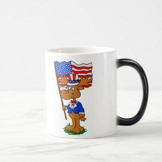 Patriot Moose Magic Mug