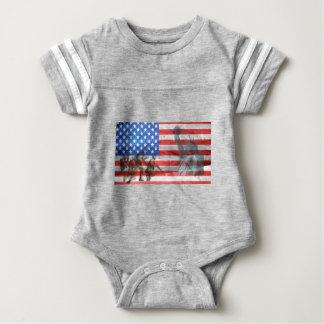 Patriot Office Home Personalize Destiny Destiny'S Baby Bodysuit