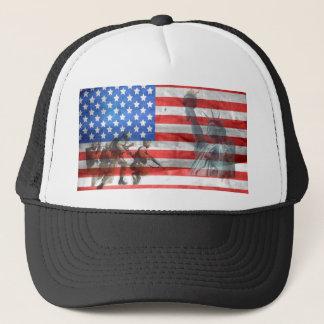 Patriot Office Home Personalize Destiny Destiny'S Trucker Hat