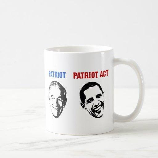 Patriot / Patriot Act Coffee Mug