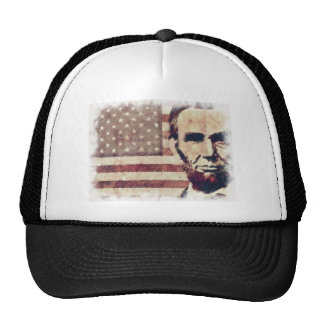 Patriot President Abraham Lincoln Trucker Hat