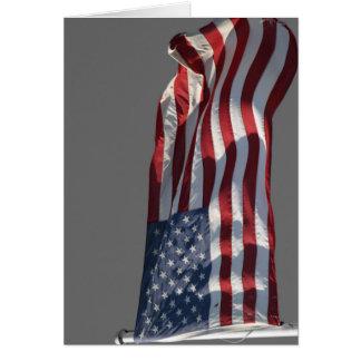 Patriot Pride - The American Flag Greeting Card