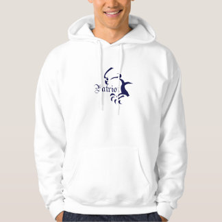 """Patriot """"Right Makes Might"""" Hoodie"""