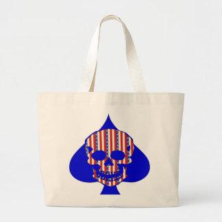 Patriot Skull Canvas Bag
