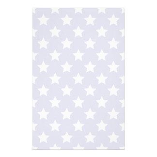 Patriot stars pattern customized stationery