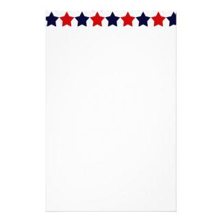 Patriot Stars Stationery Paper