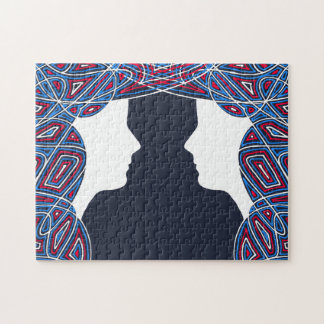 Patriot Twins Jigsaw Puzzle