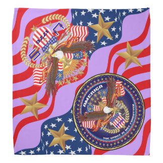 Patriotic 4th July Bandana View About Design