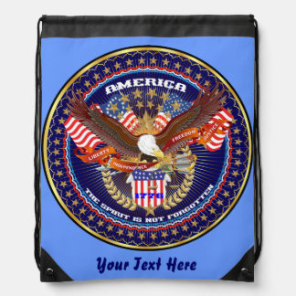 Patriotic 4th July View About Design Backpack