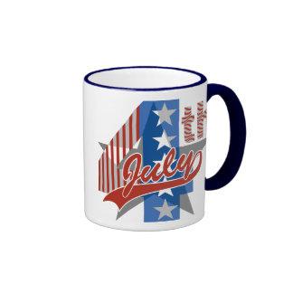 Patriotic 4th Of July Coffee Mug
