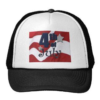 Patriotic 4th of July Shirt Hats