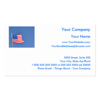 2000 patriotic business cards and patriotic business for Patriotic business card template