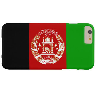Patriotic Afghan Flag Barely There iPhone 6 Plus Case