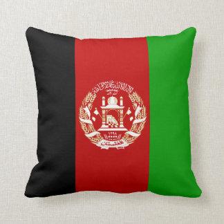 Patriotic Afghan Flag Cushion