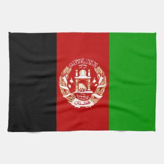 Patriotic Afghan Flag Tea Towel