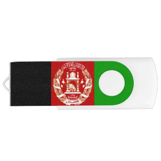 Patriotic Afghan Flag USB Flash Drive