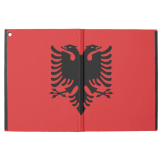 "Patriotic Albanian Flag iPad Pro 12.9"" Case"