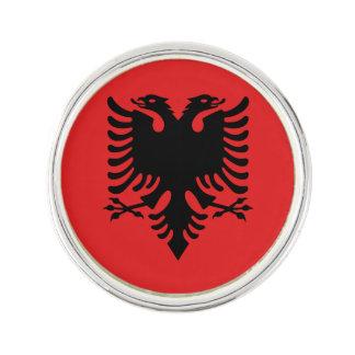 Patriotic Albanian Flag Lapel Pin