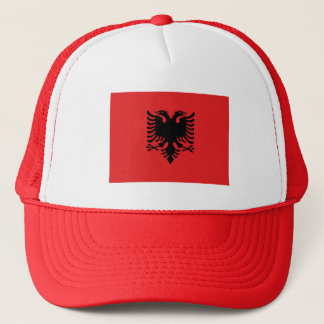 Patriotic Albanian Flag Trucker Hat