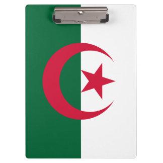 Patriotic Algerian Flag Clipboard