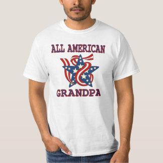 Patriotic All American Grandpa Tshirts
