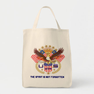 Patriotic All Styles  Please View Artist Comments Grocery Tote Bag