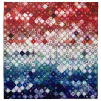 Patriotic America Collage Napkin
