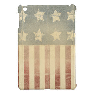 Patriotic American Colonial Flag Distressed Case For The iPad Mini