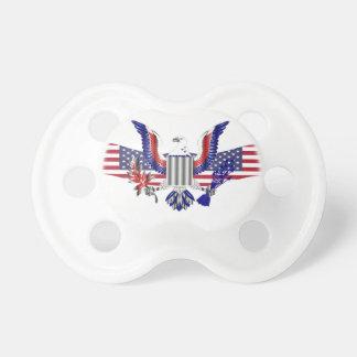 Patriotic American eagle symbol Baby Pacifier