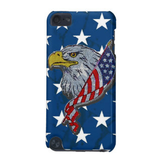 Patriotic American Eagle With Flag iPod Touch (5th Generation) Cases