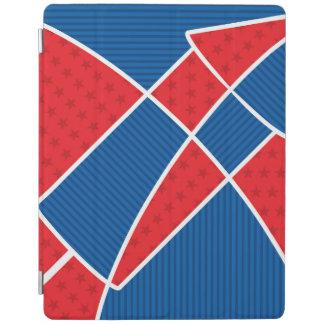 Patriotic American fireworks iPad Cover