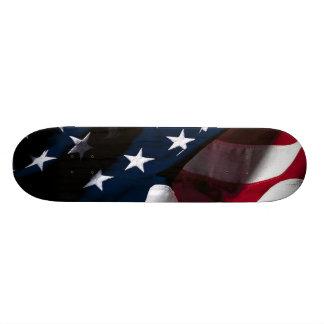 Patriotic American Flag 20.6 Cm Skateboard Deck