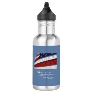 Patriotic, American Flag 532 Ml Water Bottle