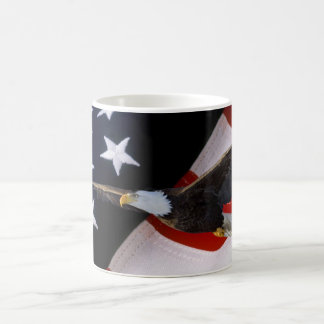 Patriotic American Flag Eagle3 Awesome Coffee Mugs