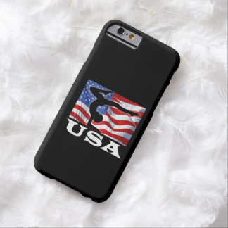 Patriotic American Flag Gymnastics Barely There iPhone 6 Case