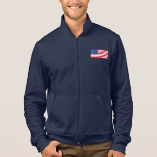 Patriotic American Flag Men's Jacket Gift