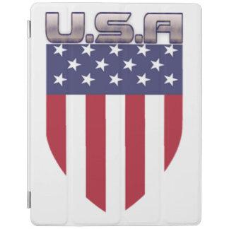 Patriotic American Flag Shield iPad Cover