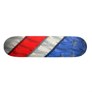 Patriotic American Flag Skateboard