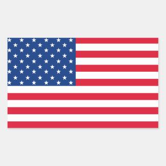 Patriotic American Flag Stickers