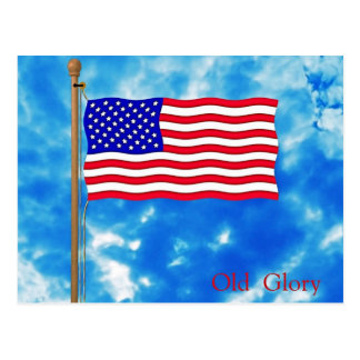 Patriotic American Flag T-Shirts and Gifts Postcard