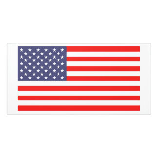 Patriotic American flag USA pride custom office Door Sign