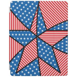 Patriotic American star iPad Cover