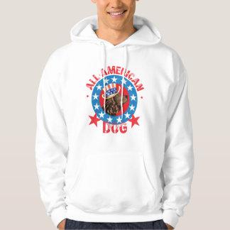 Patriotic American Water Spaniel Hoodie