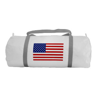 Patriotic and Awesome American Flag Gym Duffel Bag