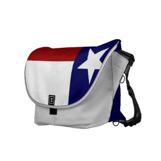 Patriotic and Stylish Texas Flag Messenger Bags