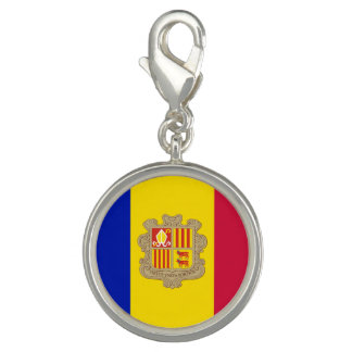 Patriotic Andorra Flag