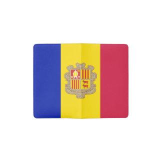 Patriotic Andorra Flag Pocket Moleskine Notebook