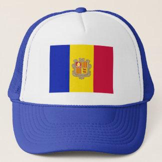 Patriotic Andorra Flag Trucker Hat